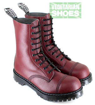 Airseal 10 Eye Boot Steel Toe (Cherry)