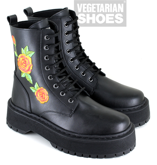 Rose Boot (Black)