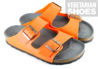 Two Strap Sandal (Orange)