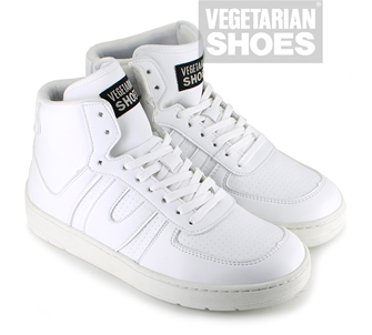 Veg Supreme Hi Top (White)