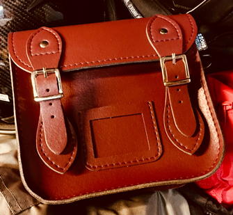Mini Satchel (Cherry)