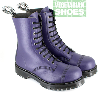 Airseal 10 Eye Boot Steel Toe (Purple)