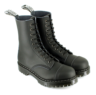 Airseal 10 Eye Boot Steel Toe (Black