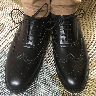 Montague Brogue (Black)