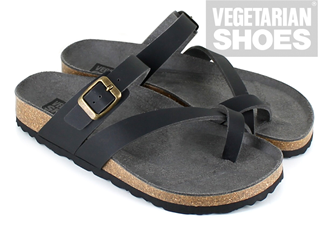 Toe Strap Sandal (Black)