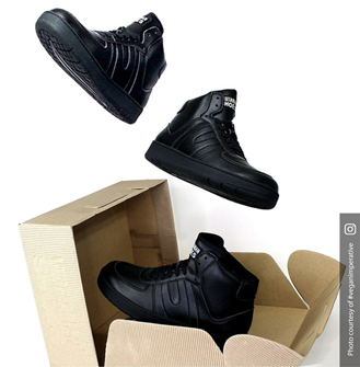 Veg Supreme Hi Top Bucky (Black)