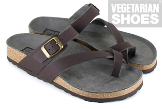 Toe Strap Sandal (Brown)