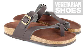 Santorini Sandal (Brown)