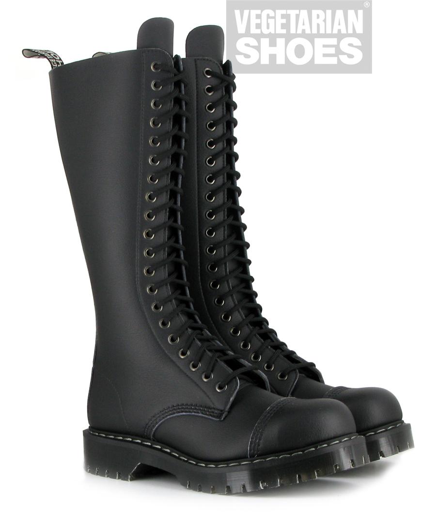 Airseal 20 Eye Boot Steel Toe Black Airseal Boots