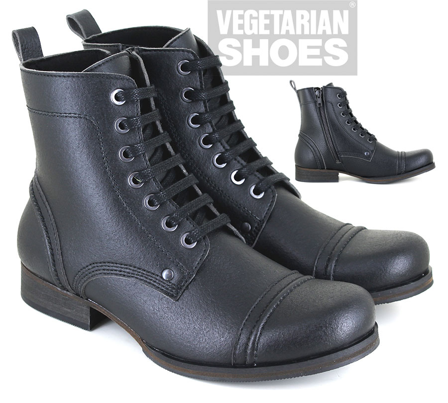 Vintage Boot Low Zip (Black)