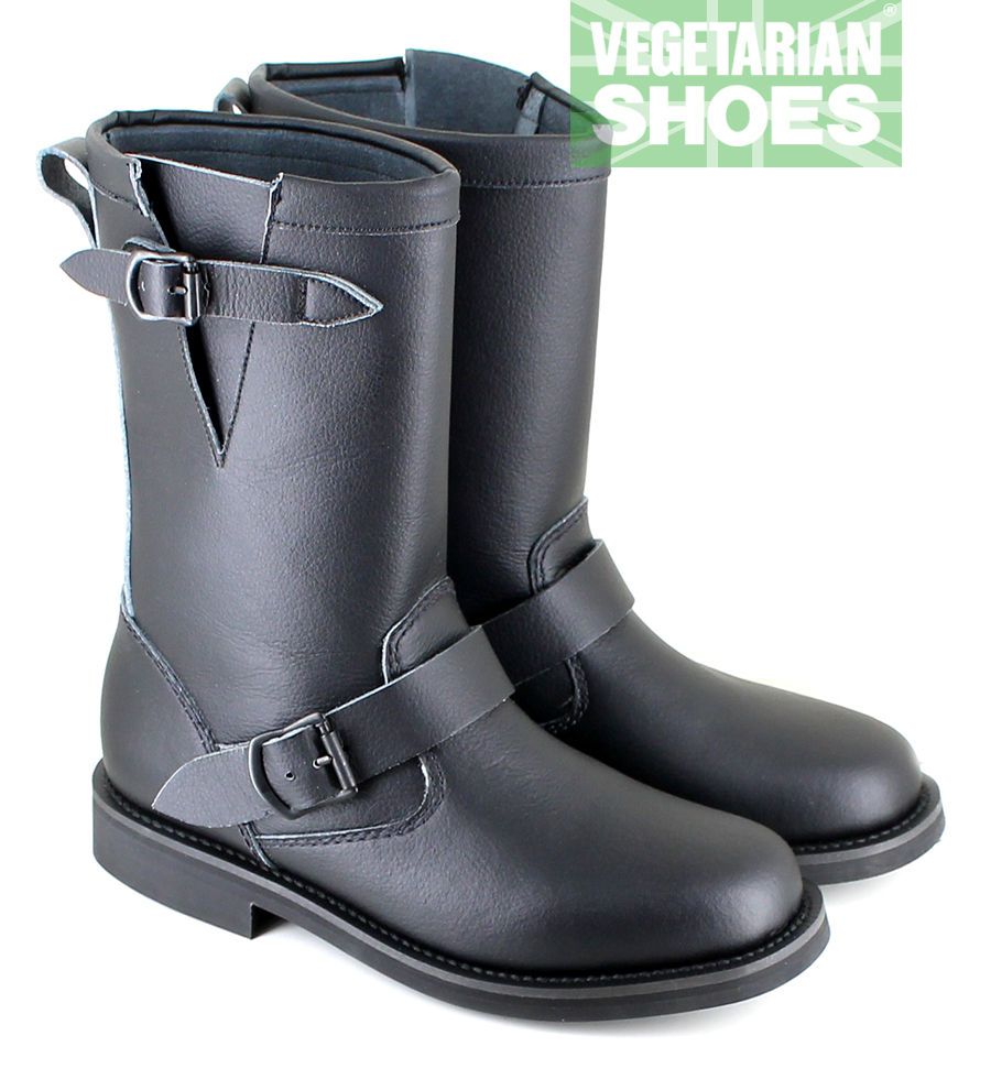 Engineer Boot Low (Black)