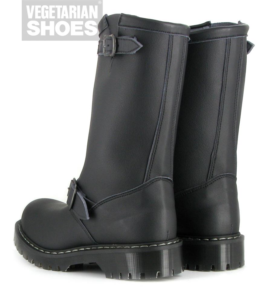 Airseal Engineers Boot Steel Toe Black
