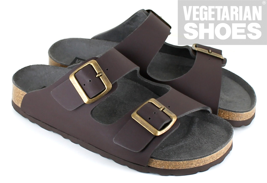 Two Strap Sandal<br>(Brown)