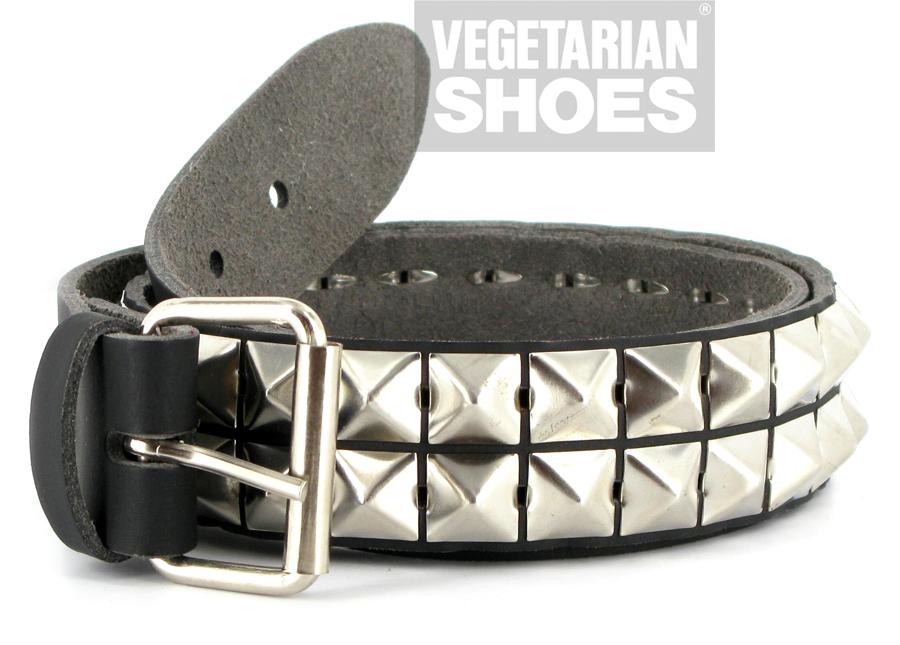 Studded Belt Pyramid Black Belts