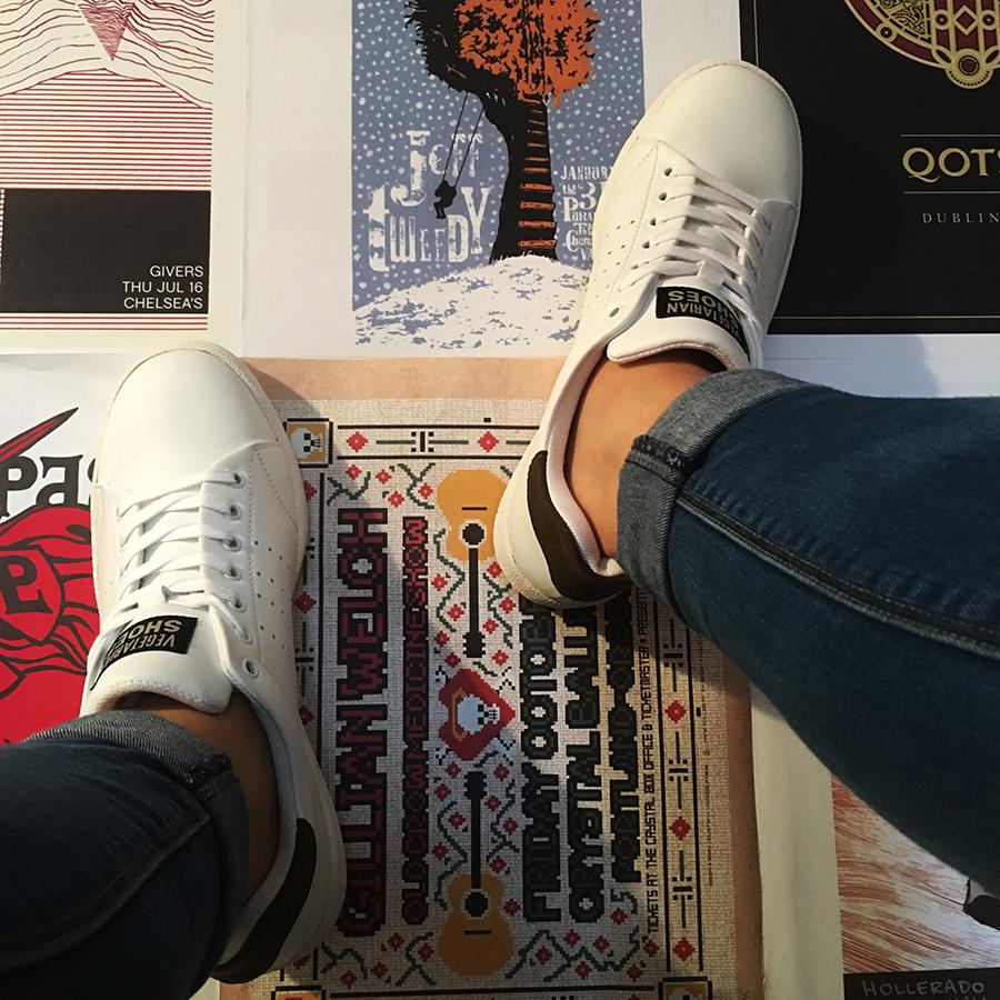 office shoes dublin. Kemp Sneaker (White) Office Shoes Dublin