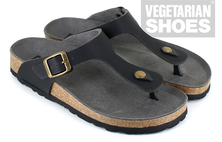 Toe Post Sandal (Black)