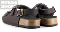 Three Strap Sandal (Brown)