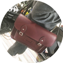 Satchel (Cherry Red)