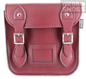 Mini Satchel (Cherry Red)