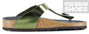 Toe Post Sandal (Metallic Green)