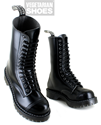 Airseal 14 Eye Boot Smooth (Black)
