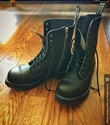 Airseal Troopa 14 Eye Zip Boot (Black)