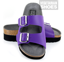Wedge Sandal (Purple)