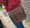 Mini Satchel (Camel)