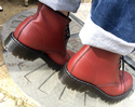 6 Eye Boot Steel Toe (Cherry)