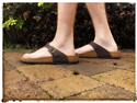 Toe Post Sandal (Brown)
