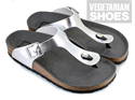 Toe Post Sandal (Silver)