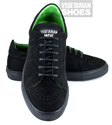 Brogue Sneaker (Black)