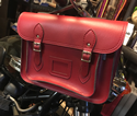 Cycle Satchel (Red)
