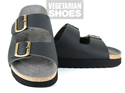 Wedge Sandal (Black)