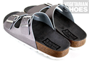 Two Strap Sandal (Pewter)