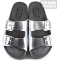 Wedge Sandal (Silver)