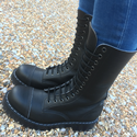 Airseal Troopa 14 Eye Zip Boot (Blac