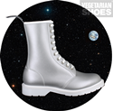 Astronaut Boot (Silver)