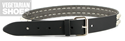 Studded Belt Pyramid (Black)