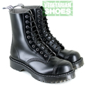 Airseal 10 Eye Boot Smooth (Black)