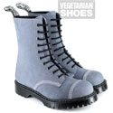 Airseal 10 Eye Boot Steel Toe Grey