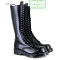 Airseal 20 eye Boot Smooth (Black)