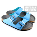 Two Strap Sandal (Blue)