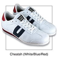 Cheatah White, Blue, Red
