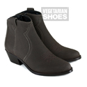 No Cow Boot Vintage Bucky (Brown)