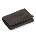 Fake Suede Wallet (Brown)
